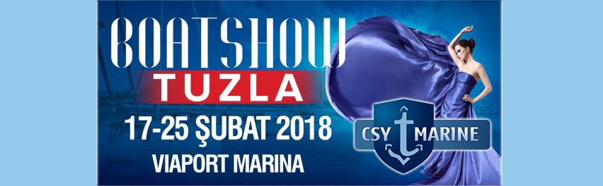 Viaport Marina Boat Show Eurasia 2018 CSY Marine