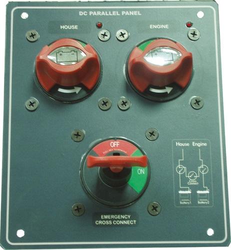 Akü switch panel seti