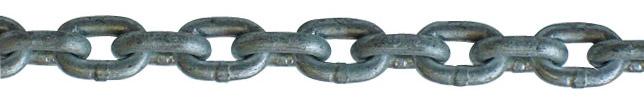 Kalibreli baklalı galvanizli zincir 18 mm
