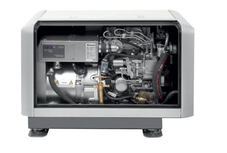 Whisper Power M-SQ 8 Diesel Jeneratör 1500 RPM