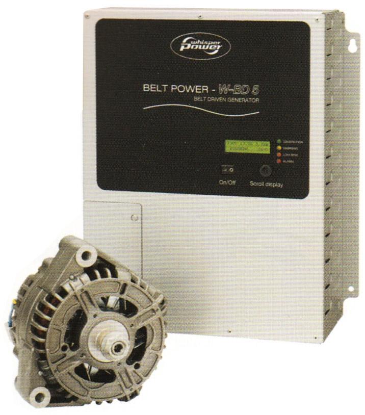 Whisper Power motordan tahrikli jeneratörler