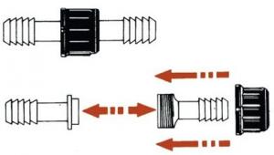 Plastik Hortum Konnektörü