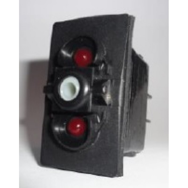 Carling Switch V1BB ON-OFF Kalıcı Çift LED 24 Volt