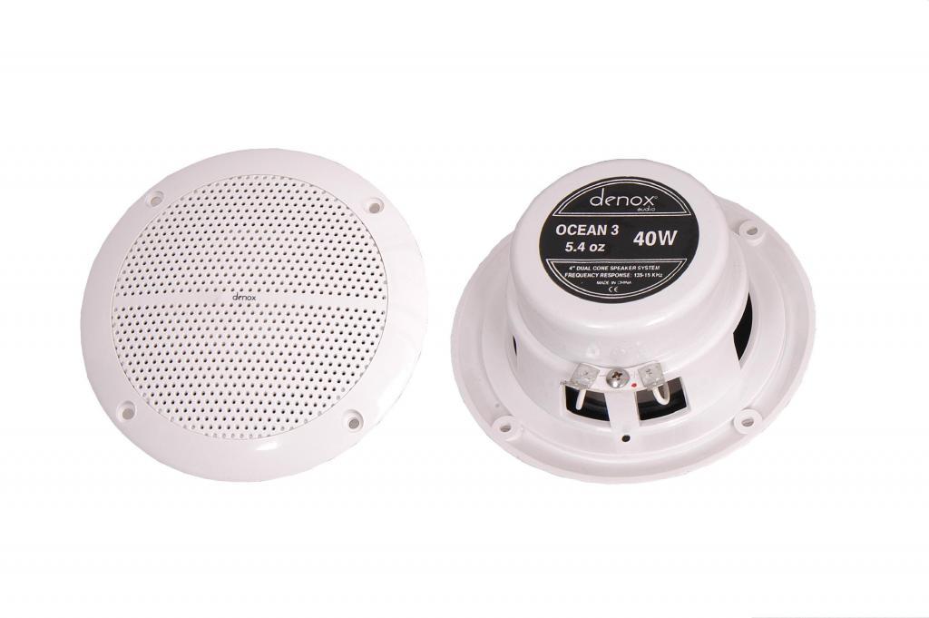 Denox Ocean 3 Marin Hoparlör - 40 Watt - Çift