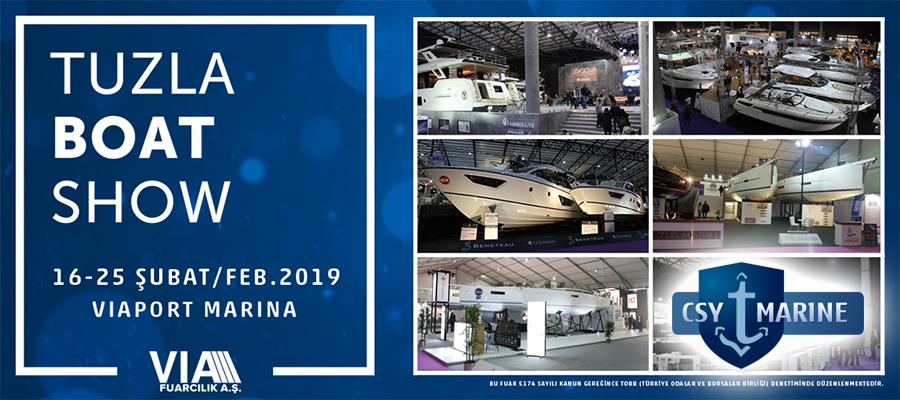Viaport Marina Boat Show Eurasia 2019 CSY Marine