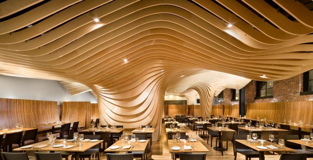 Restaurantlar İçin Ahşap Kompozit Panel